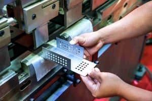 press folding metal