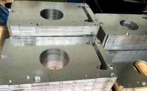 turret punched metal plates