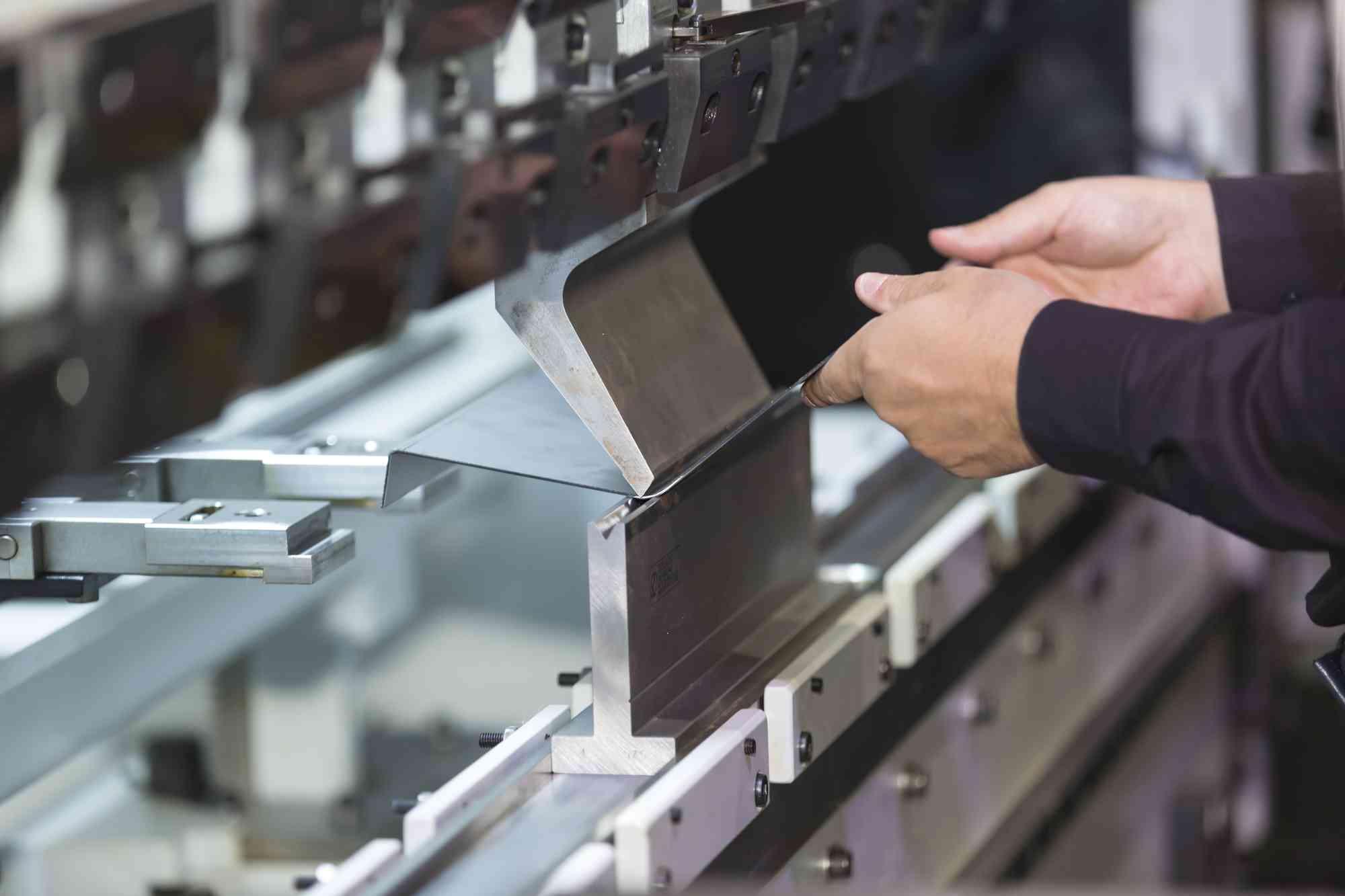 metal brake press folding fabrication