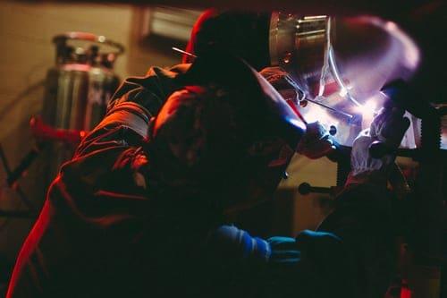 Metal work welding